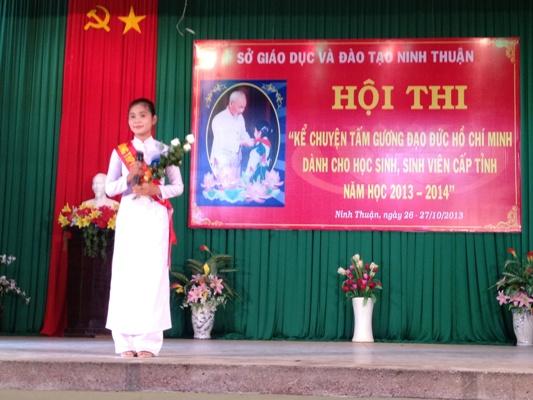 Về kết quả Hội thi ANGT và Hội thi Kể chuyện tấm gương đạo đức Hồ Chí Minh cấp tỉnh năm học 2013-2014