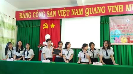 Các trường THPT trên địa bàn huyện Ninh Hải, Thuận Bắc tổ chức Hội thảo nâng cao chất lượng môn học và giao lưu tiếng Anh.